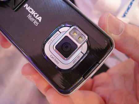 Nokia N96 camera phone
