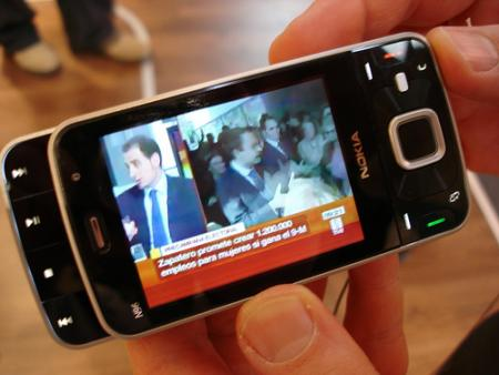 Nokia N96 mobile TV