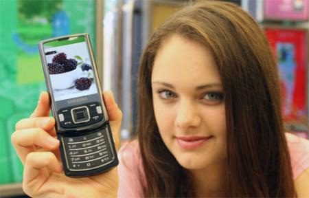 Samsung INNOV8 i8510 mobile phone