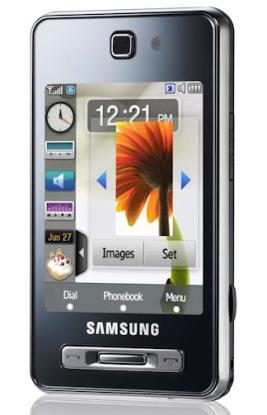 Samsung F480 Tocco mobile phone