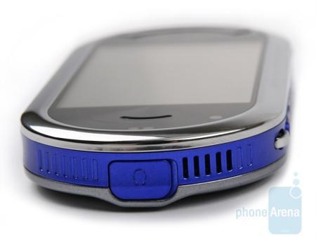 Samsung Beat DJ M7600 on its side