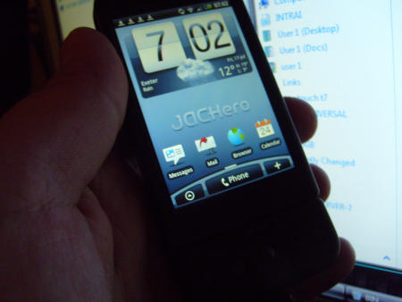 HTC Hero on the G1