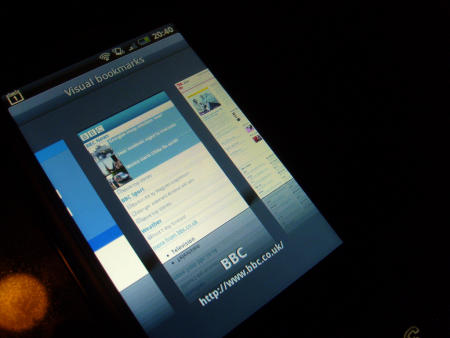 HTC Hero on the T-Mobile G1