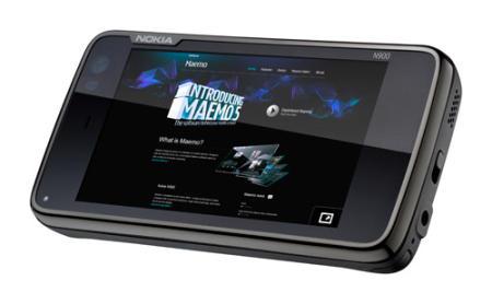 Nokia N900 smartphone