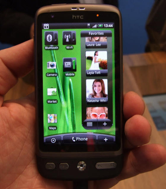 Another HTC Desire homescreen