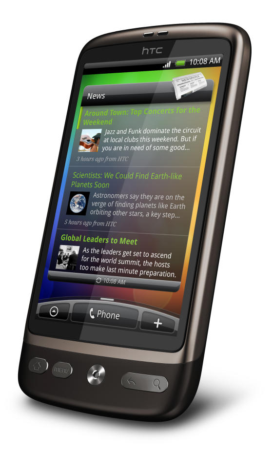 HTC Desire Android smartphone