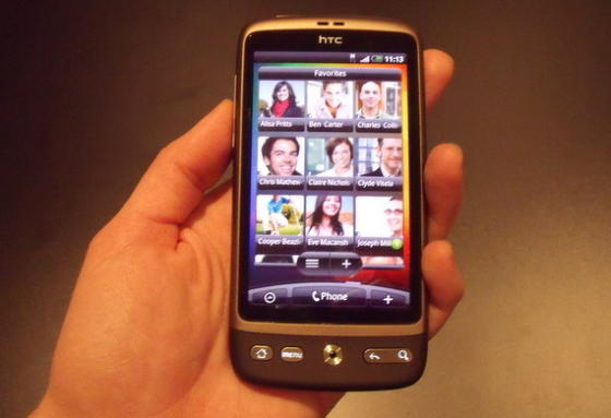 HTC Desire FriendStream