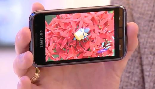 Samsung Galaxy S Super-AMOLED screen