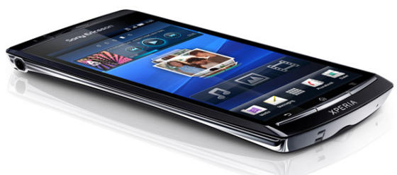 Sony Ericsson Xperia Arc smartphone