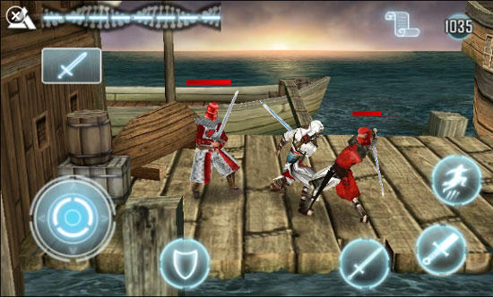 Assassins Creed on HTC 7 Pro