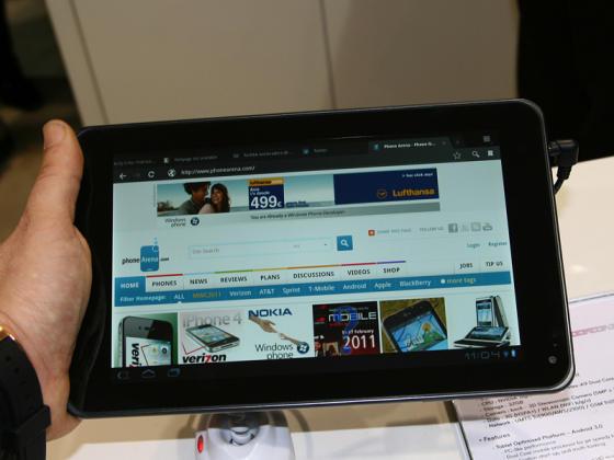 LG Optimus Pad preview