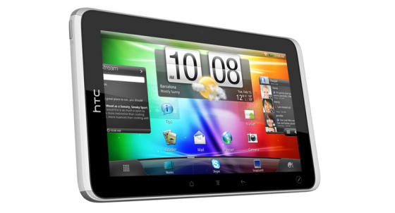 HTC Flyer tablet preview