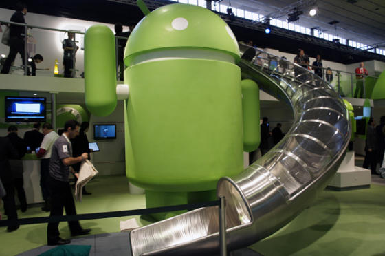Google Android at MWC 2011