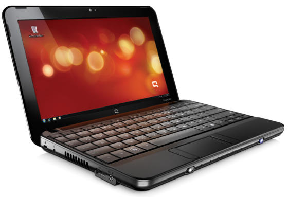 Compaq CQ10 netbook with free mobile phones