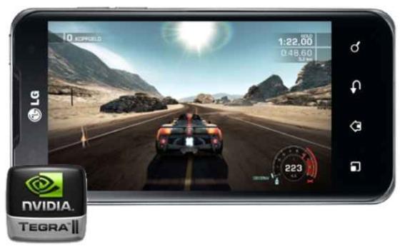 LG optimus 2X with Tegra2 chip