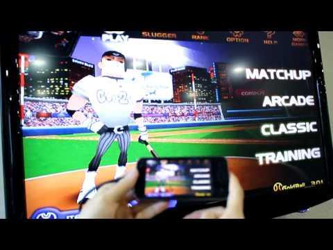 LG Optimus 2X playing games