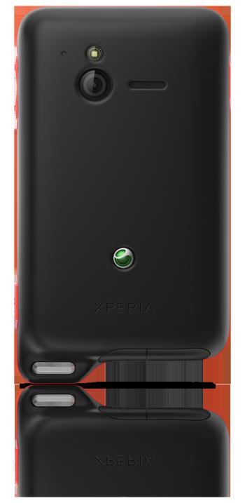 Sony Ericsson Xperia Active from the back