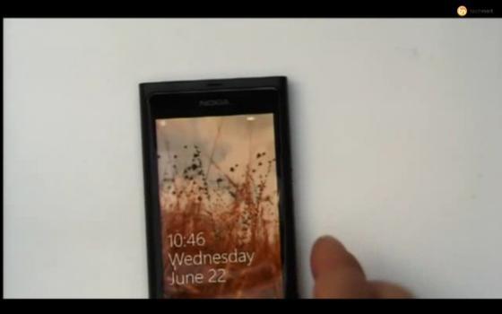 Nokia Windows Phone 7 device