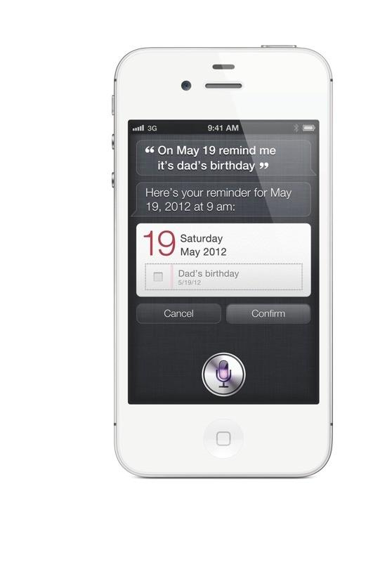 Siri on Apple iPhone 4S