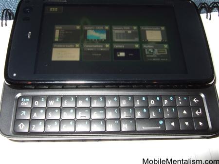 Nokia N900 desktop