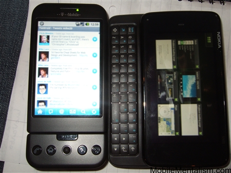 Nokia N900 applications