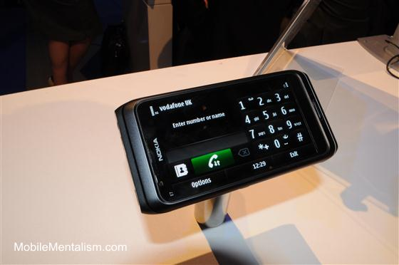 Nokia E7 review - Symbian^3 user interface