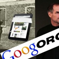 Google Motorola Steve Jobs and HP Touchpad